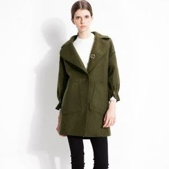 Halona - Snap-Button Coat