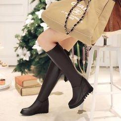 佳美 - 內增高高身靴