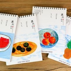 Homey House - Printed Notebook (L)