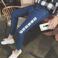 Masowild - Print Skinny Jeans