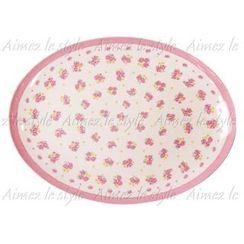 Aimez le style - Aimez le style Oval Plate Flower Arrangement
