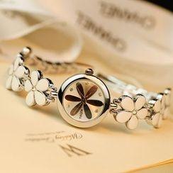HM - Flower Bracelet Watch