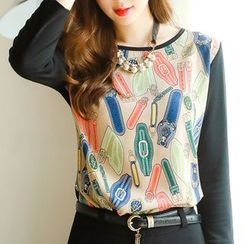 Ranee - Printed Pullover