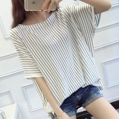 anzoveve - Striped T-Shirt