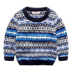 Kido - 童裝圖案毛衣