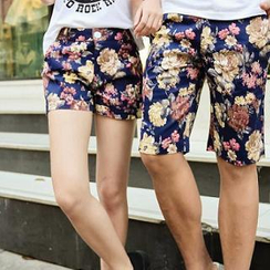 Evolu Fashion - Floral Couple Shorts