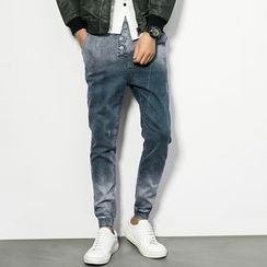 Edway - Gradient Slim-Fit Jeans