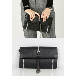 REDOPIN - Faux-Leather Clutch