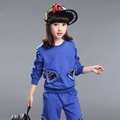 Famula - Set: Kids Sequined Top + Pants