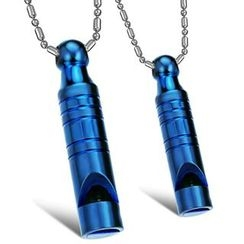 Tenri - Whistle Couple Matching Stainless Steel Necklace