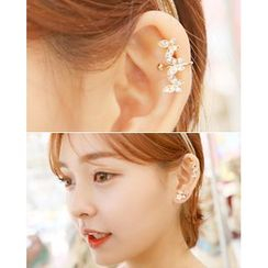 Miss21 Korea - Butterfly Ear Cuff (Single)