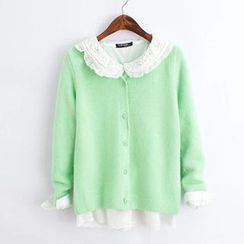 ninna nanna - Open-Front Knit Cardigan