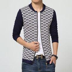 Bay Go Mall - Zip Knit Jacket