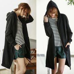 Capricorn - Hooded Long Zip Jacket