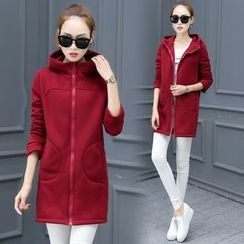 Fancy Show - Hooded Zip Coat