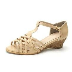 MODELSIS - Ankle Strap Braided Sandals