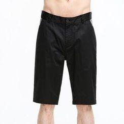 Yishion - 棉质混纺短裤