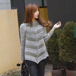 REDOPIN - Open-Knit Sweater
