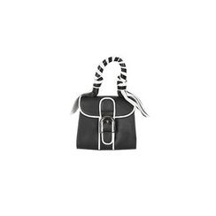 DABAGIRL - Faux-Leather Buckled Tote with Shoulder Strap