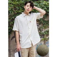 GERIO - Short-Sleeve Pocket-Front Shirt