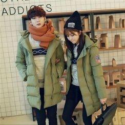 We Belong - Couple Matching Padded Coat