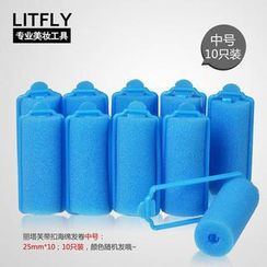 Litfly - Hair Roller (25mm) (10 pcs)