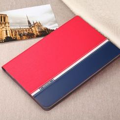 TORRAS - Colour Block Faux Leather Case - iPad