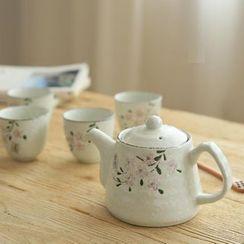Kawa Simaya - Set: Floral Teapot + Cup