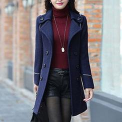 Donnae - Woolen Long Coat