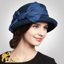BADA - Bow Fedora Hat