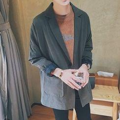 Arthur Look - 垂肩單鈕扣西裝外套