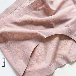 MITU - 蕾絲無痕內褲
