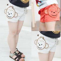 Seashells Kids - Kids Monkey Shorts