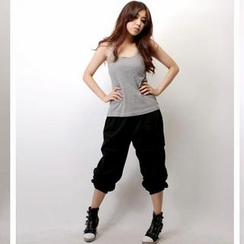 SeventyAge - Drawstring-Waist Cotton Pants