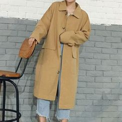 Dasim - Single-Breasted Trench Coat