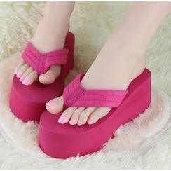 Chryse - Platform Flip-flops