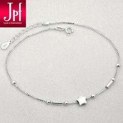 JPF - 925 Sterling Silver Star Anklet