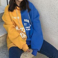 Jolly Club - Color-Block Hoodie