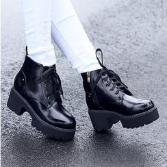 Mancienne - Heel Ankle Boots
