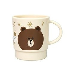 Skater - LINE FRIENDS Brown Stacking Plastic Cup