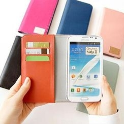 iswas - Faux-Leather Galaxy Note 2 Case