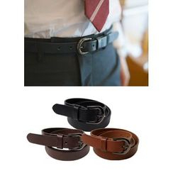 JOGUNSHOP - Faux-Leather Belt