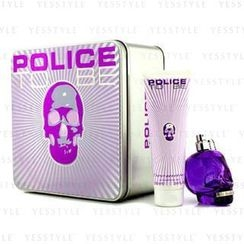 Police - To Be Coffret: Eau De Parfum Spray 75ml/2.5oz + Body Lotion 100ml/3.4oz