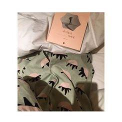 ssongbyssong - Pattern Cotton Pajama Set
