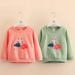 Seashells Kids - Kids Print Sweatshirt