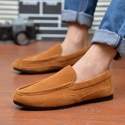 Artree - Faux Suede Loafers