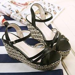 Mancienne - Espadrille Wedge Sandals