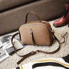 Bag Affair - Faux Leather Shoulder Bag