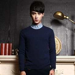 WOOG - Plain Knit Pullover