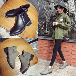 BARCA - Studded Ankle Boots